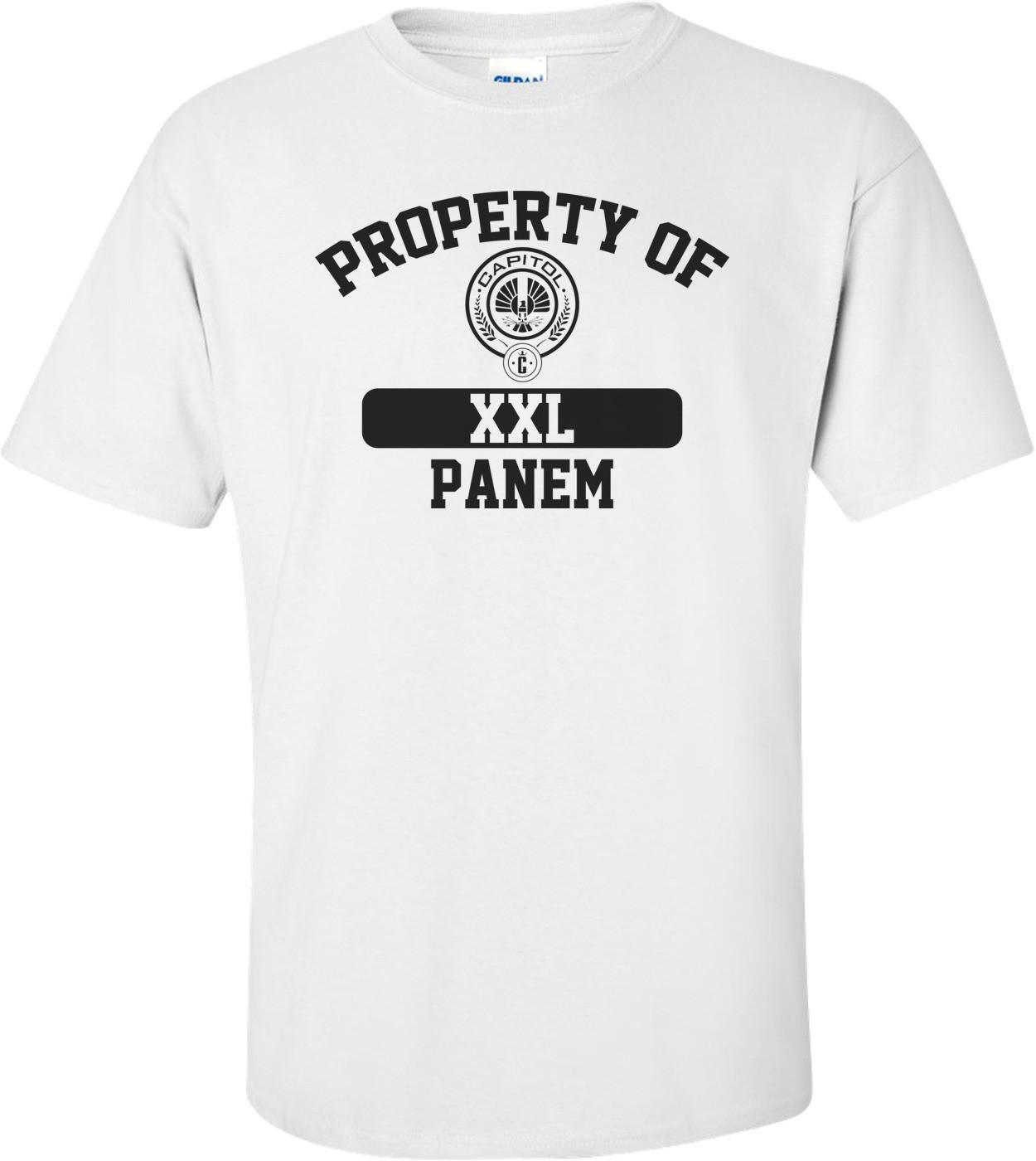 Property Of Panem Hunger Games Shirt