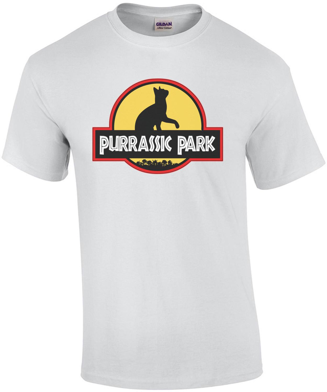 Purrassic Park - Funny Cat T-shirt