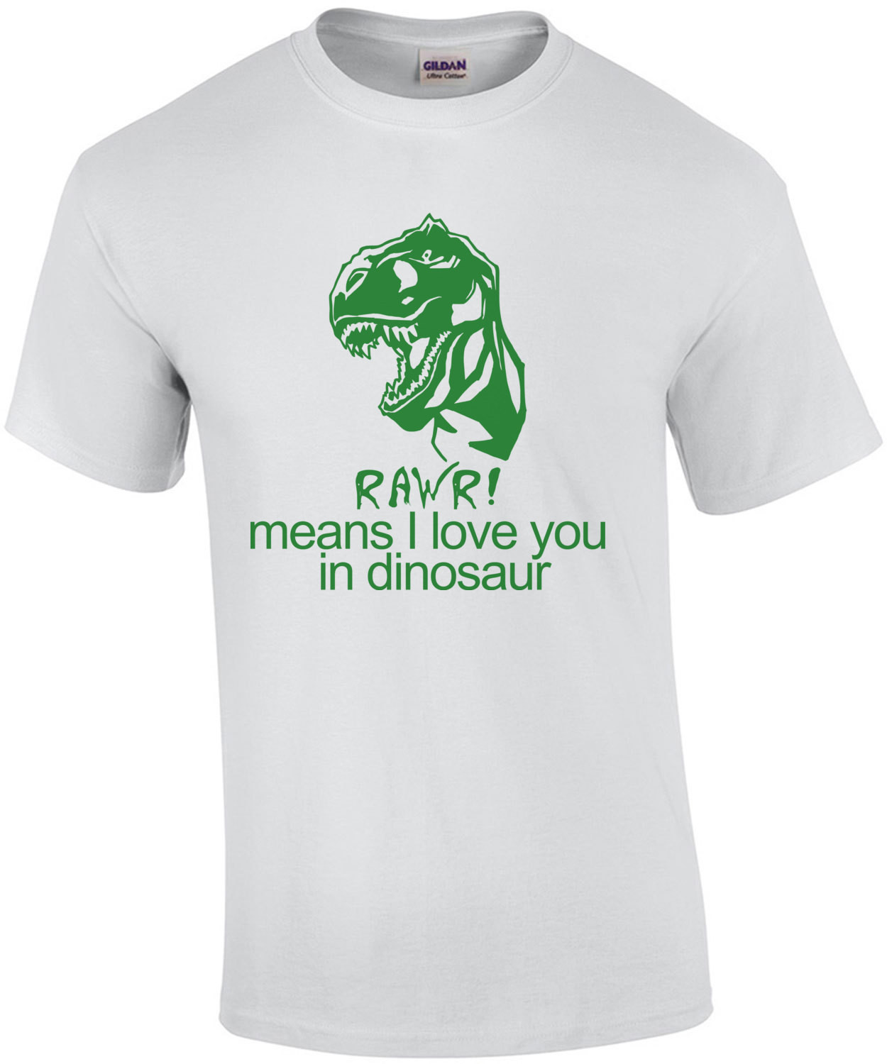 Rawr! Means I Love You In Dinosaur Kids Shirt