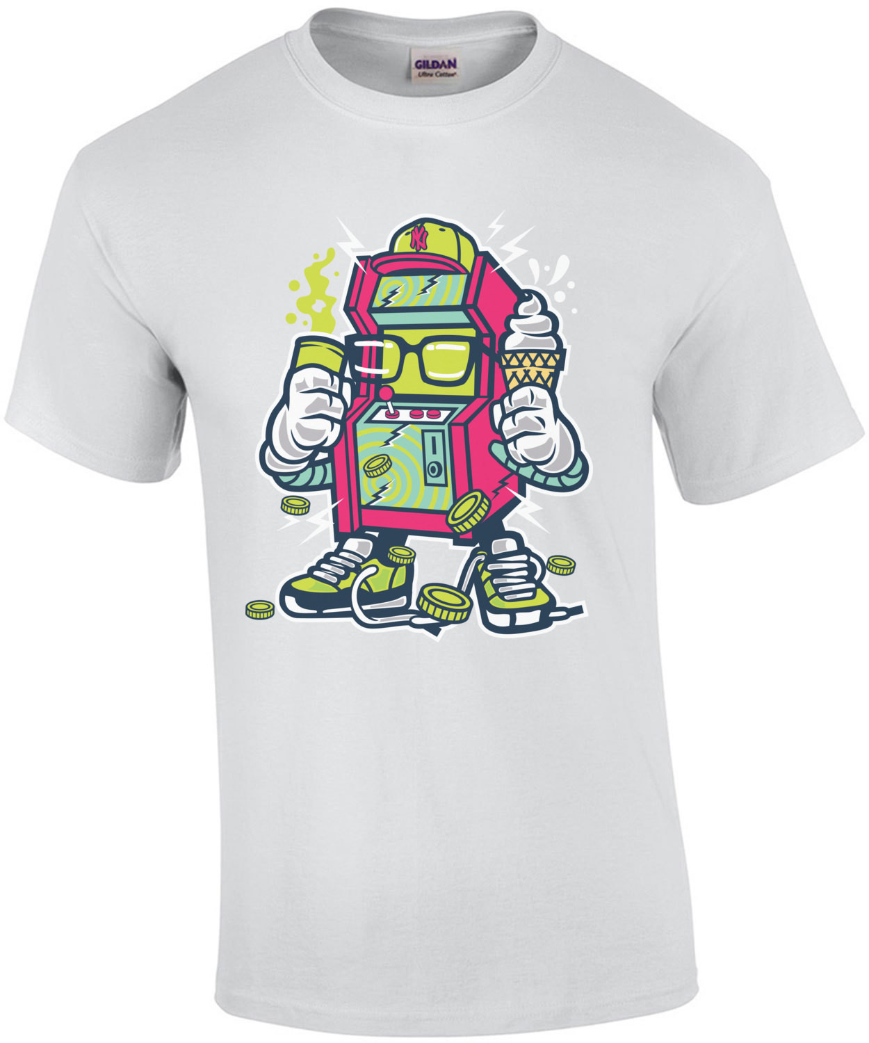 Retro Arcade Machine T-Shirt