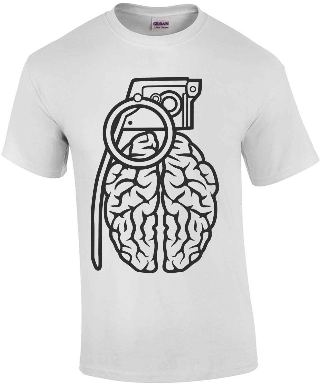 Retro Brain Grenade T-Shirt