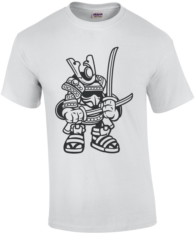 Retro Cartoony Samurai T-Shirt