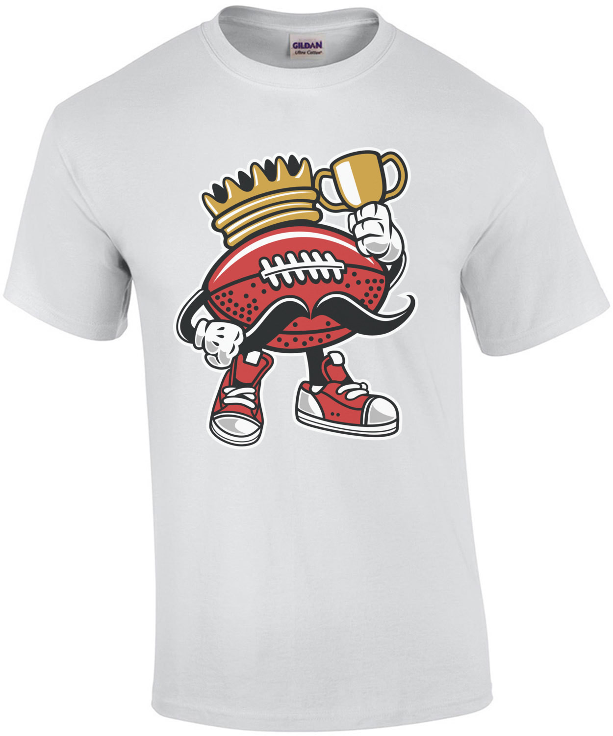Retro Football King T-Shirt