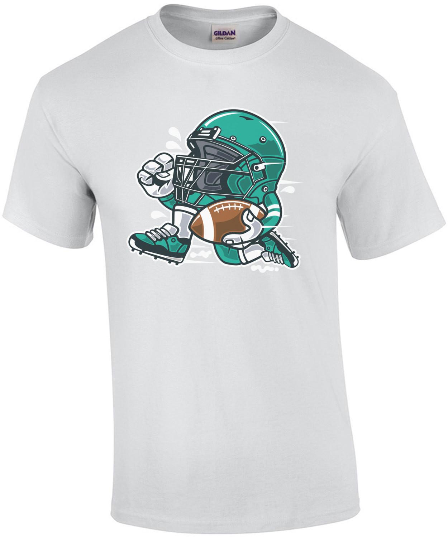 Retro Football Player T-Shirt