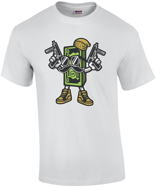 Retro Gangster Cash Money T-Shirt