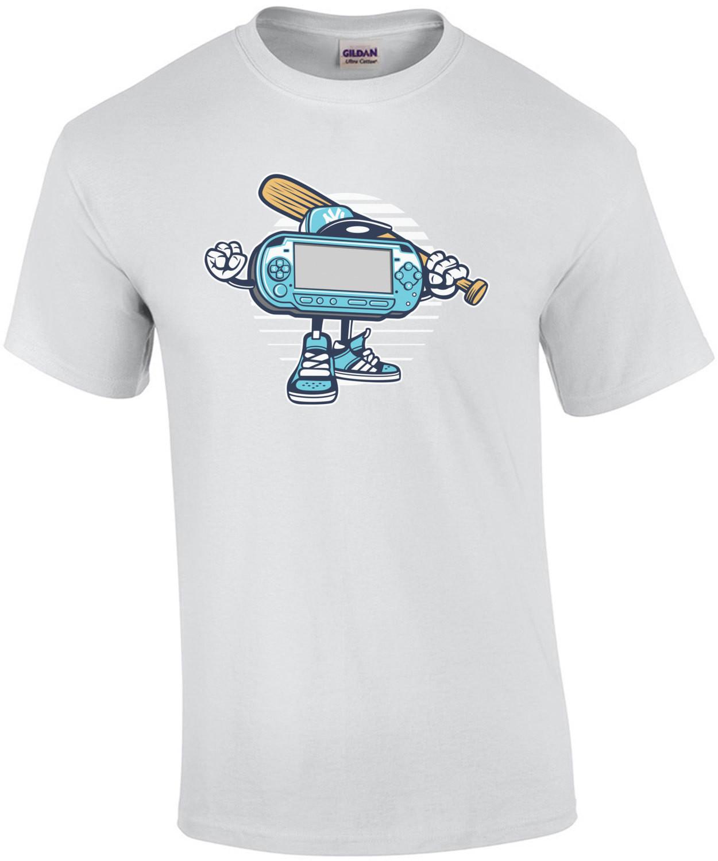 Retro Gangster Psp Style Handheld T-Shirt