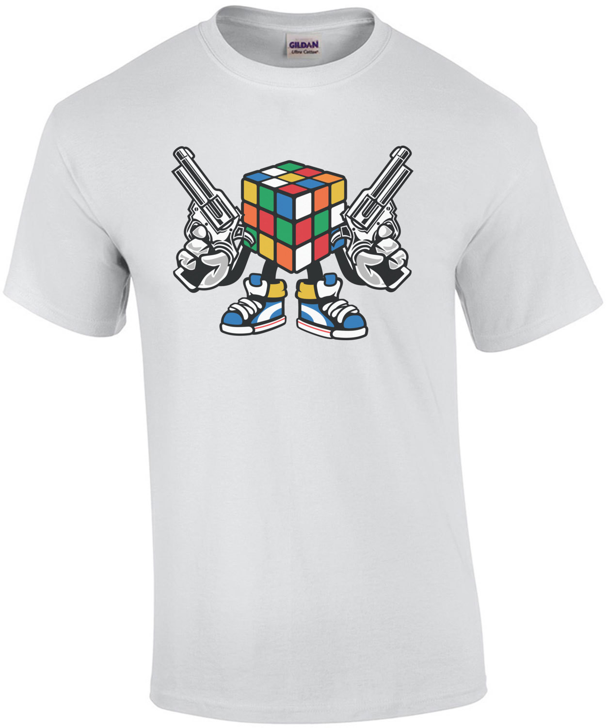 Retro Killer Rubix Cube T-Shirt
