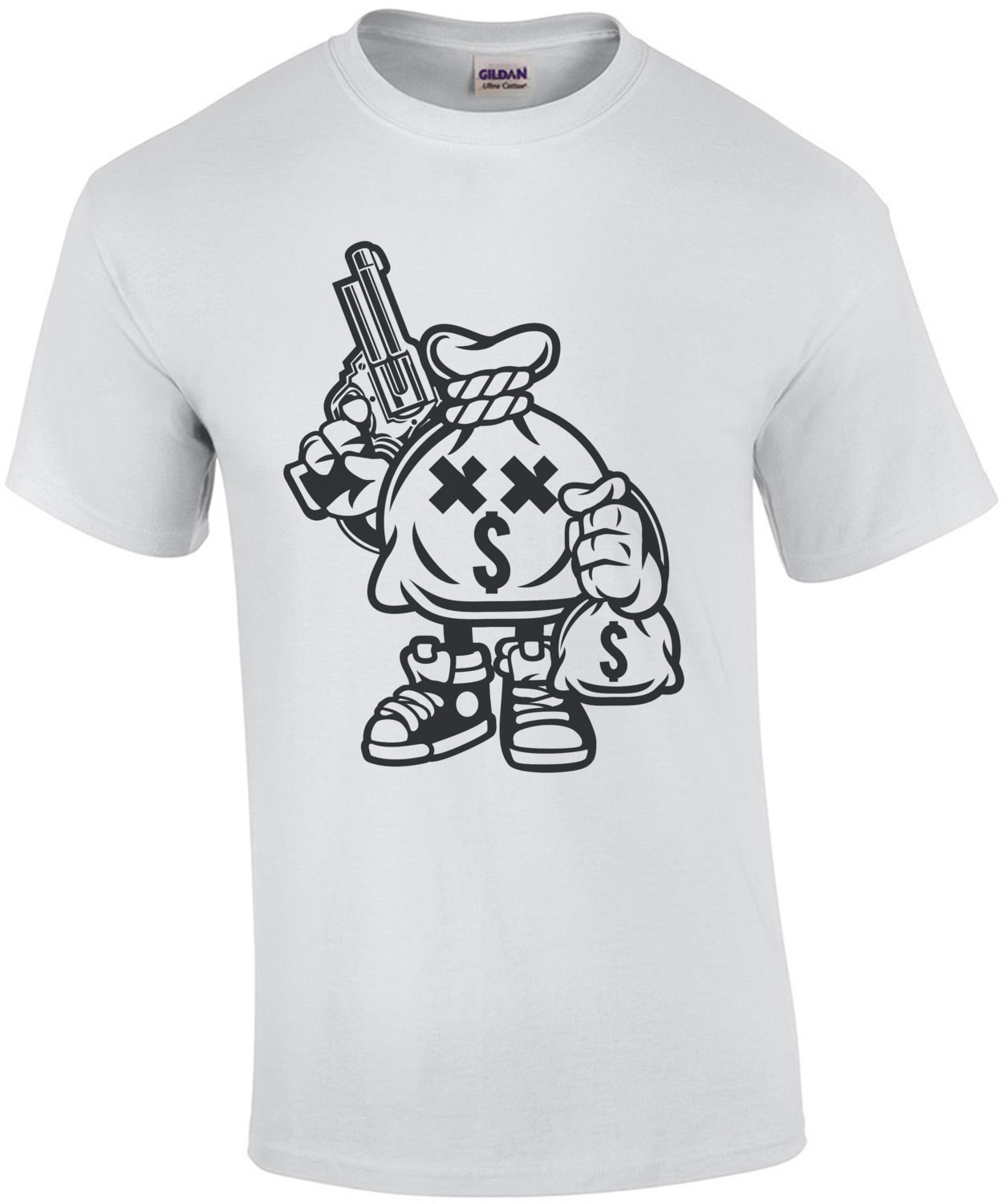 Retro Moneybag Robber T-Shirt