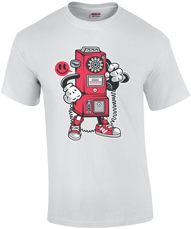 Retro Pay Phone T-Shirt
