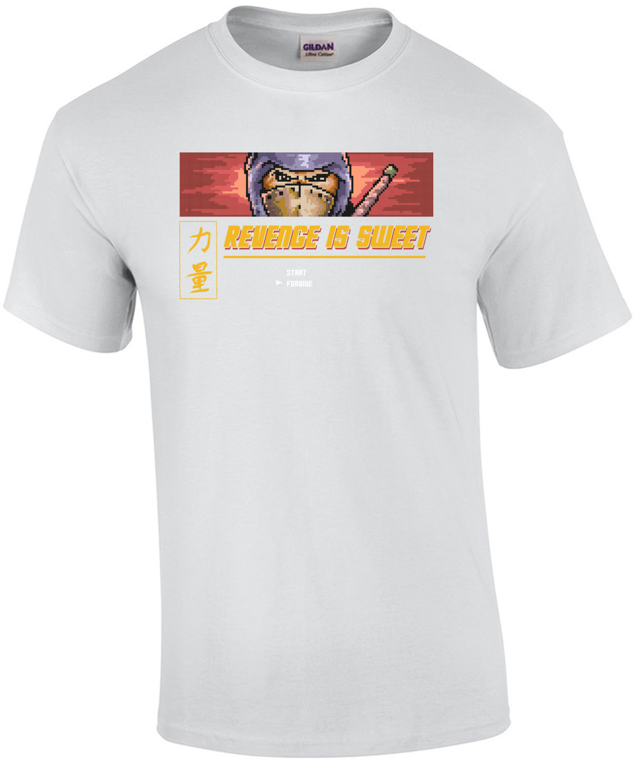 Revenge Is Sweet Retro Ninja Gaiden Gaming T-Shirt