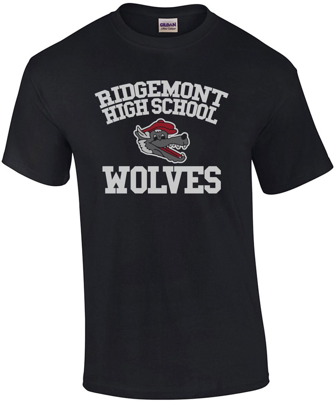 Ridgemont High School Wolves - Fast Times at Ridgemont High - 80's T-Shirt