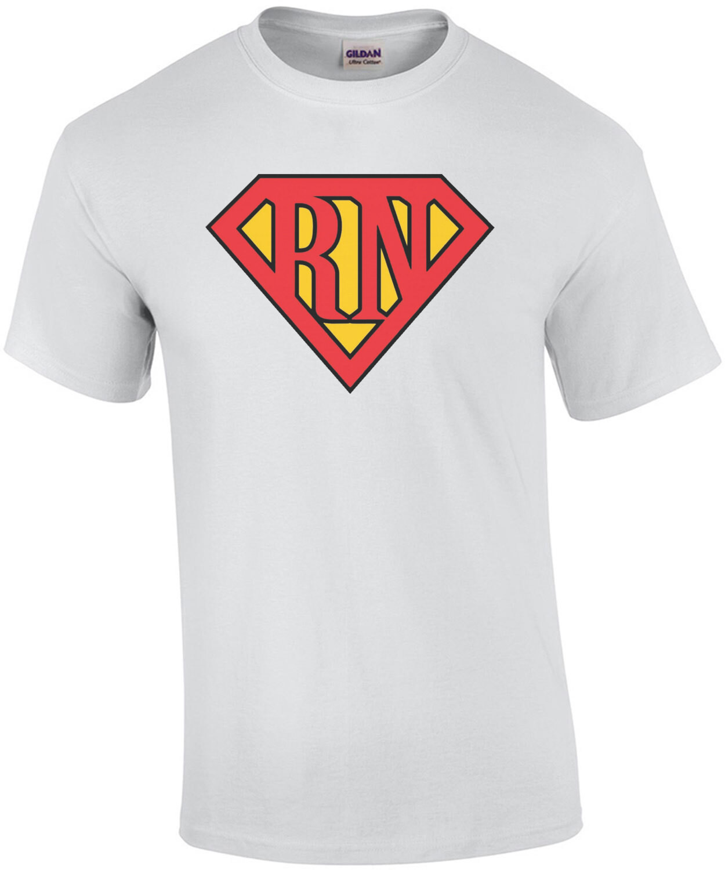 RN - Registered Nurse - Superman T-Shirt