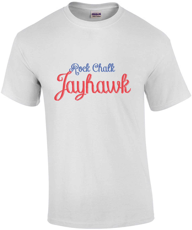 Rock Chalk Jayhawk - Kansas T-Shirt