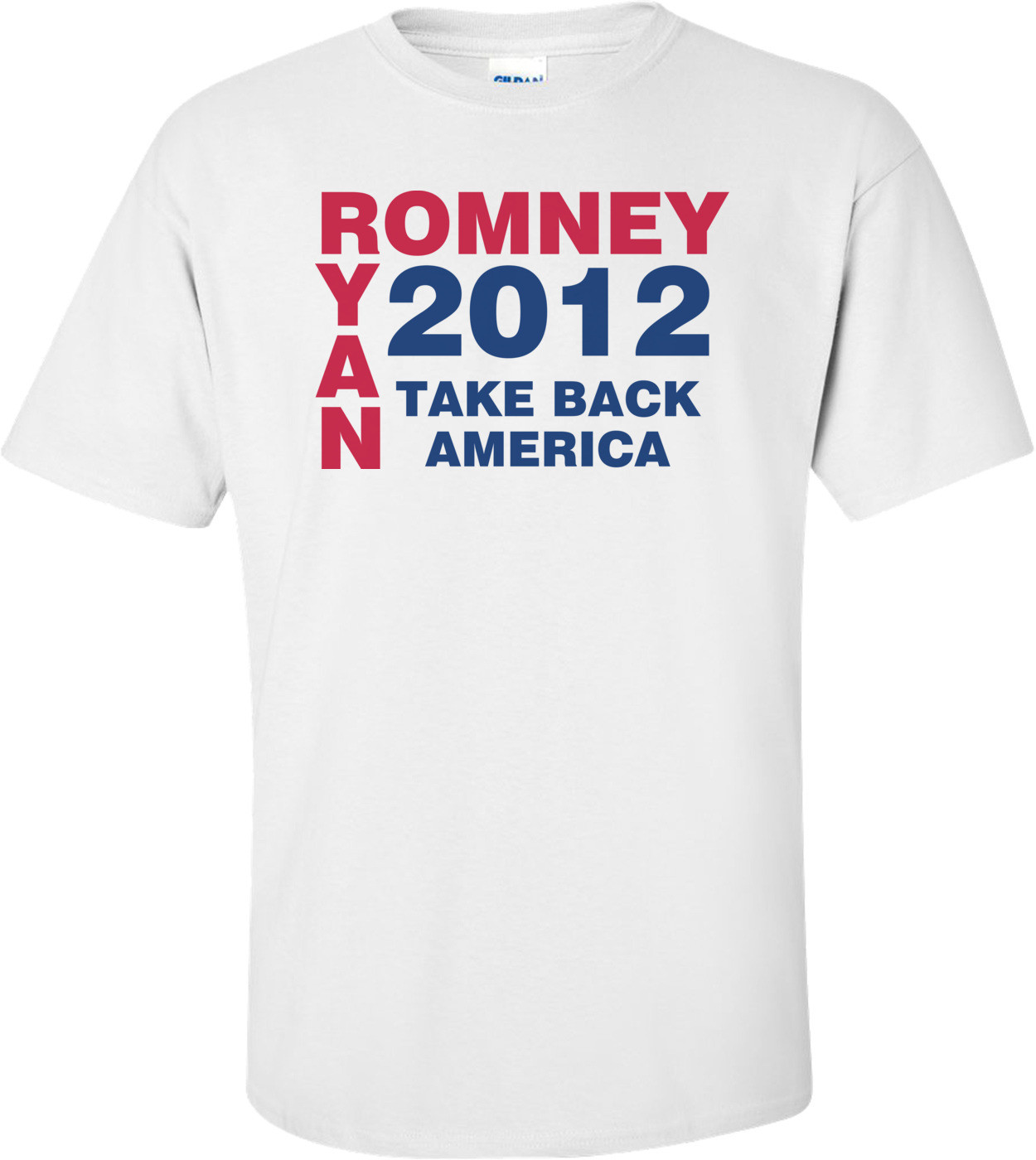 Romney Ryan Take Back America 2012 T-shirt