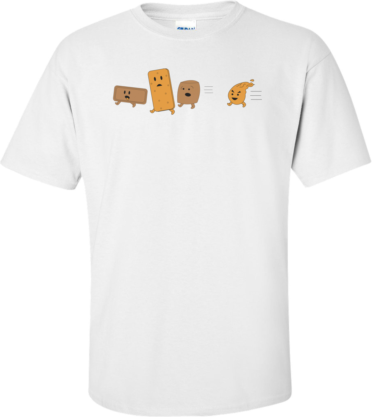 Running S'mores Funny Shirt