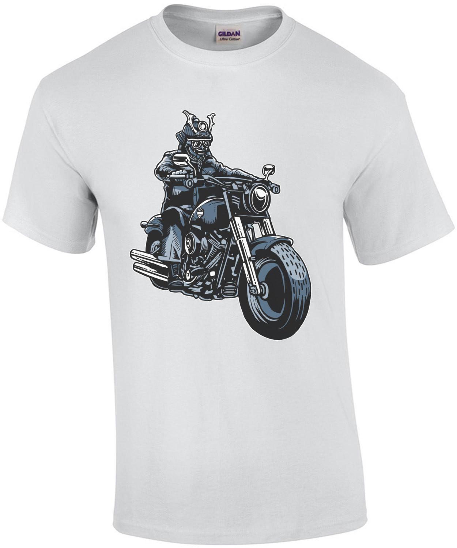 Samurai Bike Rider T-Shirt