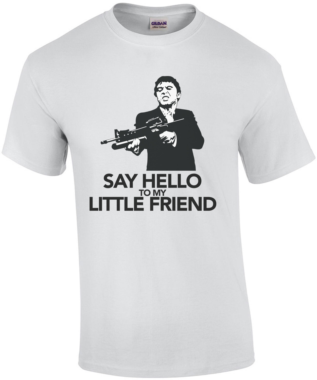 Say Hello to my Little Friend - Al Pacino - Scarface - 80's T-Shirt