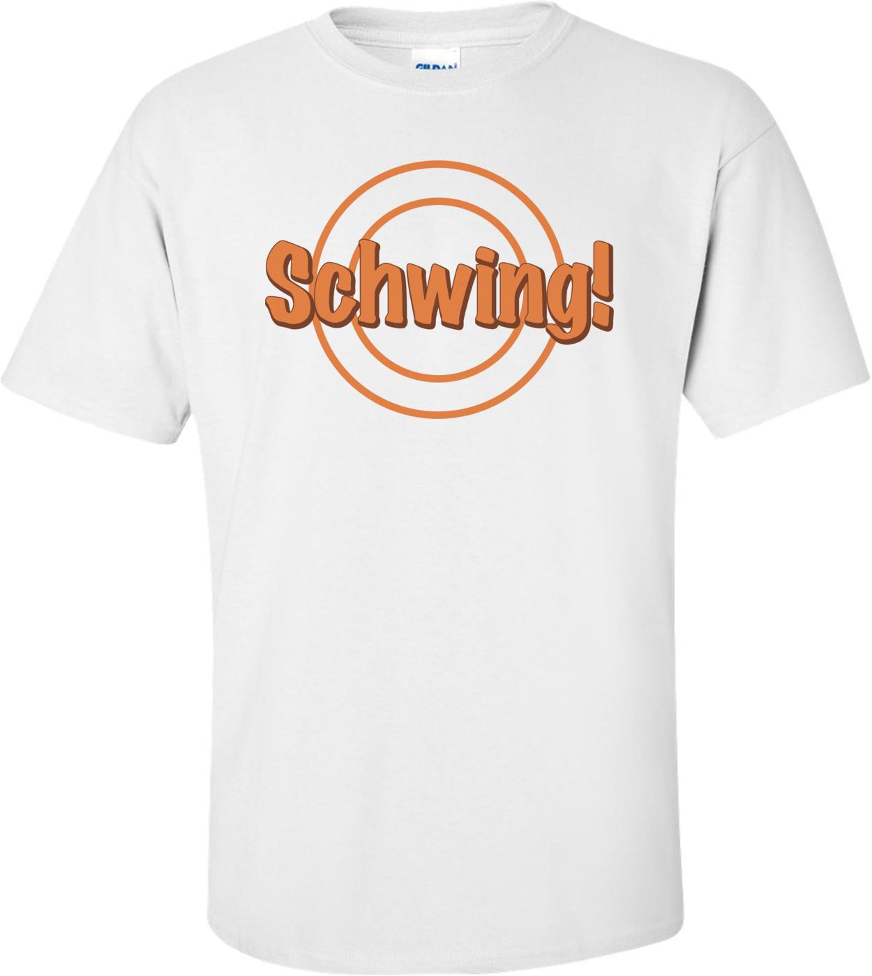 Schwing Wayne's World T-shirt