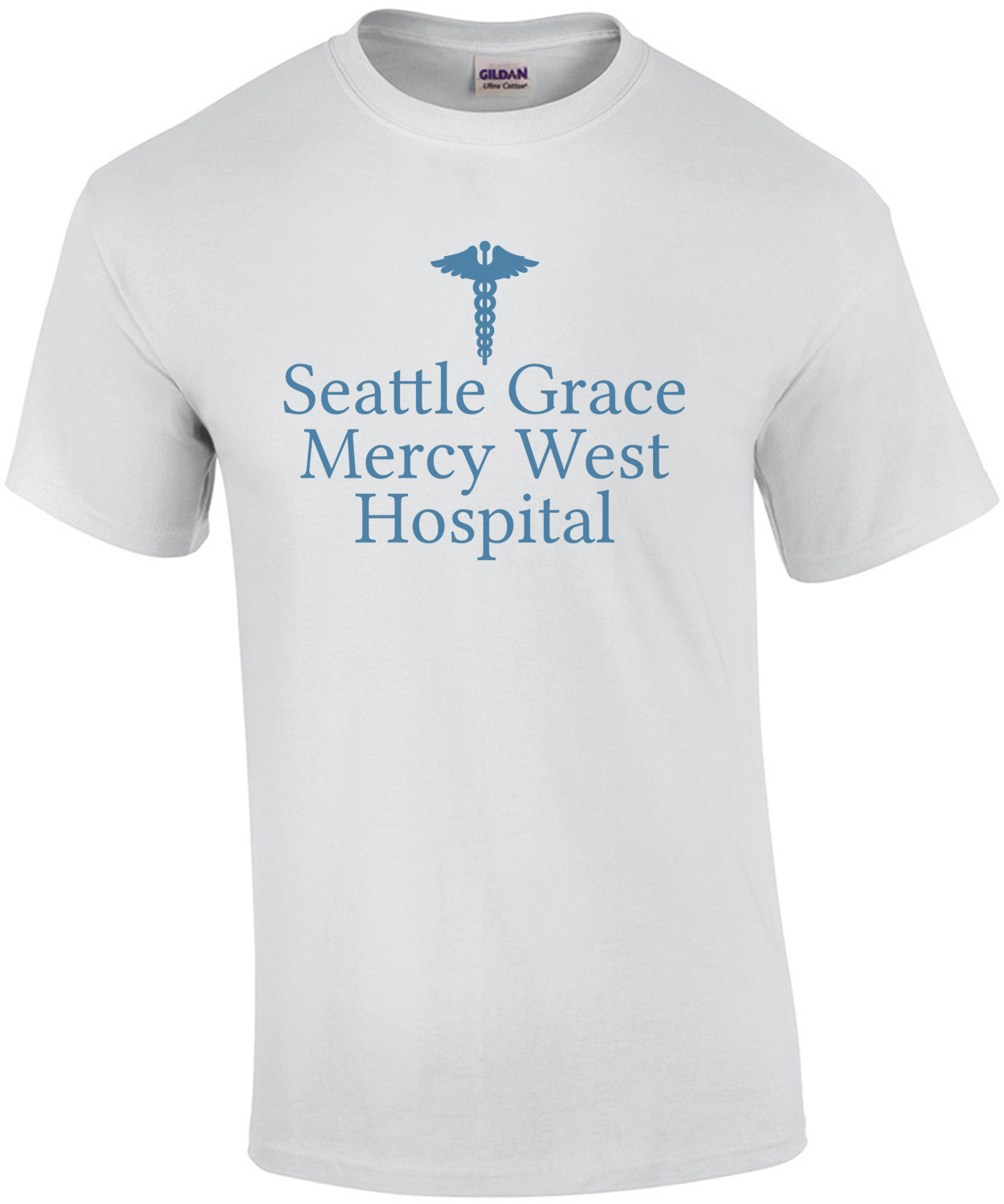 Seattle Grace Mercy West Hospital Grey's Anatomy Shirt