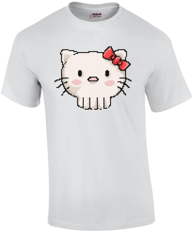 Skull Hello Kitty Retro T-Shirt