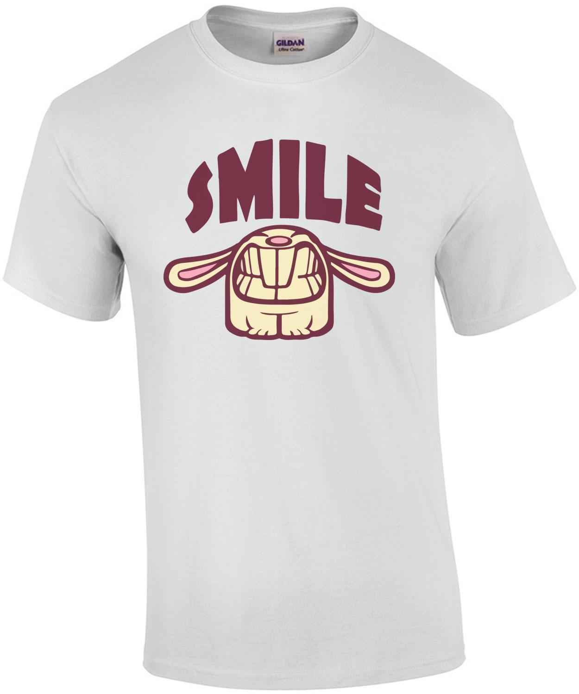 Smile - Smiley Bunny T-Shirt