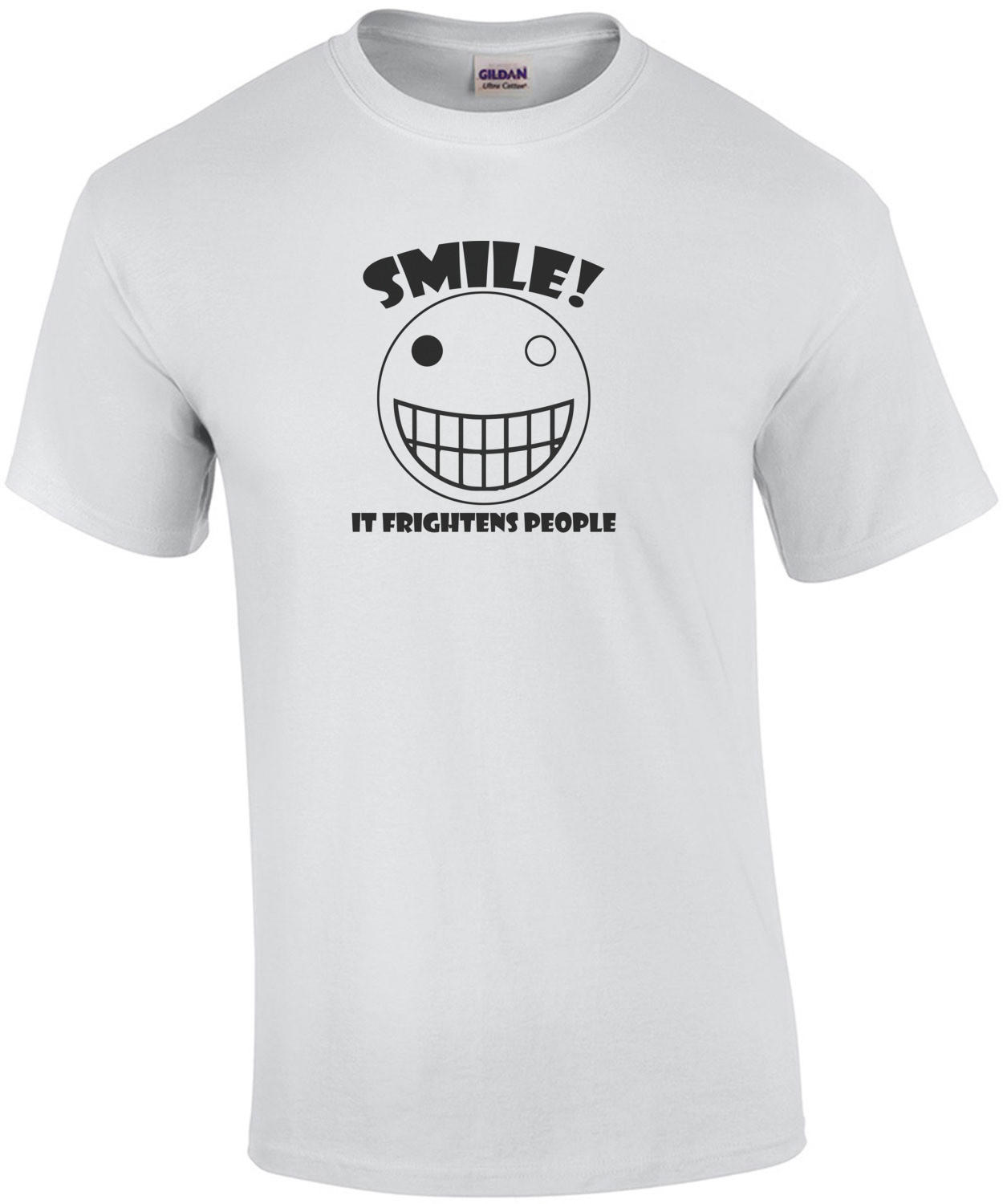 Smile, It Frightens People Shirt
