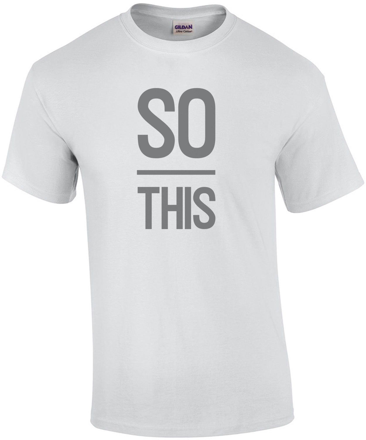So OVER this - funny t-shirt