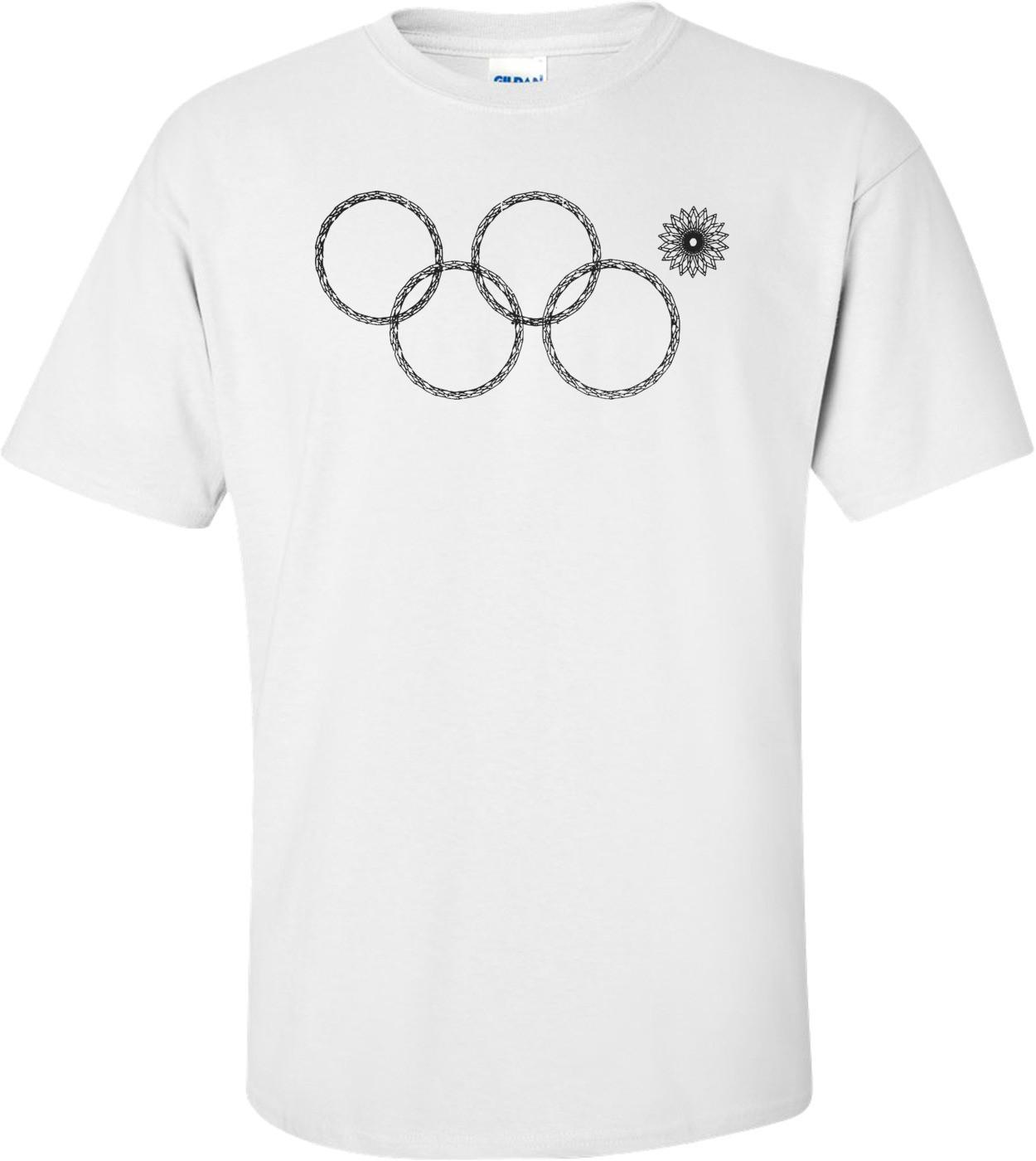 Sochi Olympic Ring Fail Funny Shirt