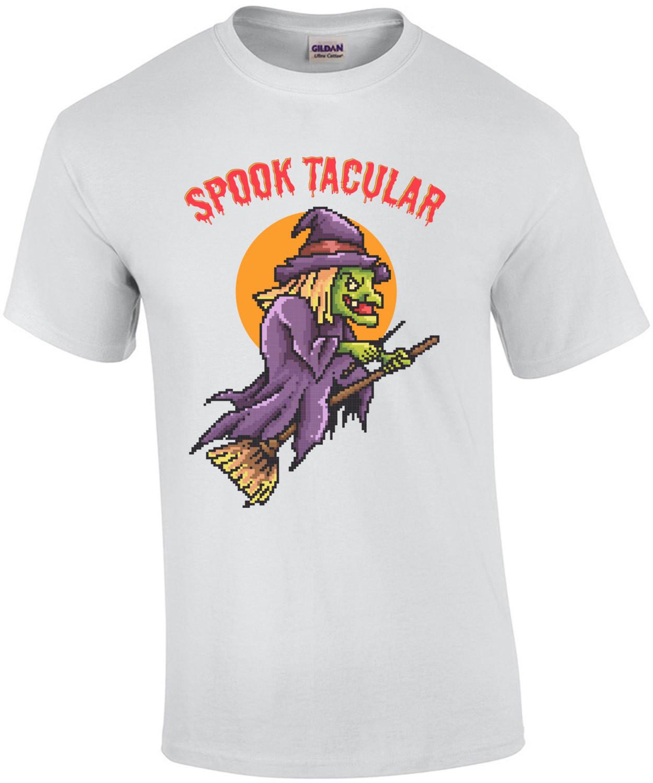 Sppok Tacular Retro Halloween T-Shirt