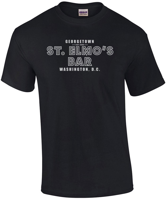 St. Elmo's Bar - St. Elmo's Fire - 80's T-Shirt