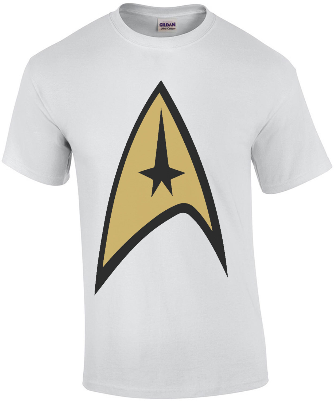 Star Trek Command Uniform - Star Trek 80's T-Shirt