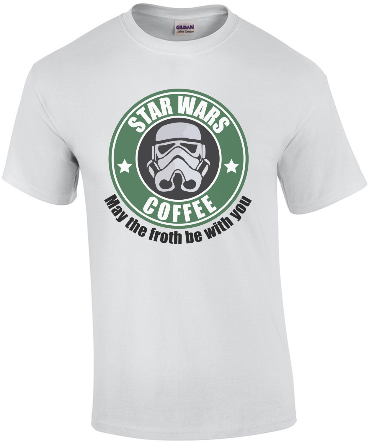 Star Wars Coffee - May the froth be with you Star Wars T-Shirt