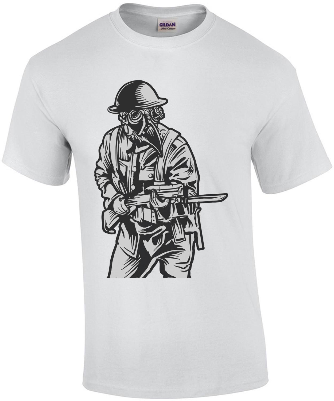Steampunk Plague Soldier T-Shirt