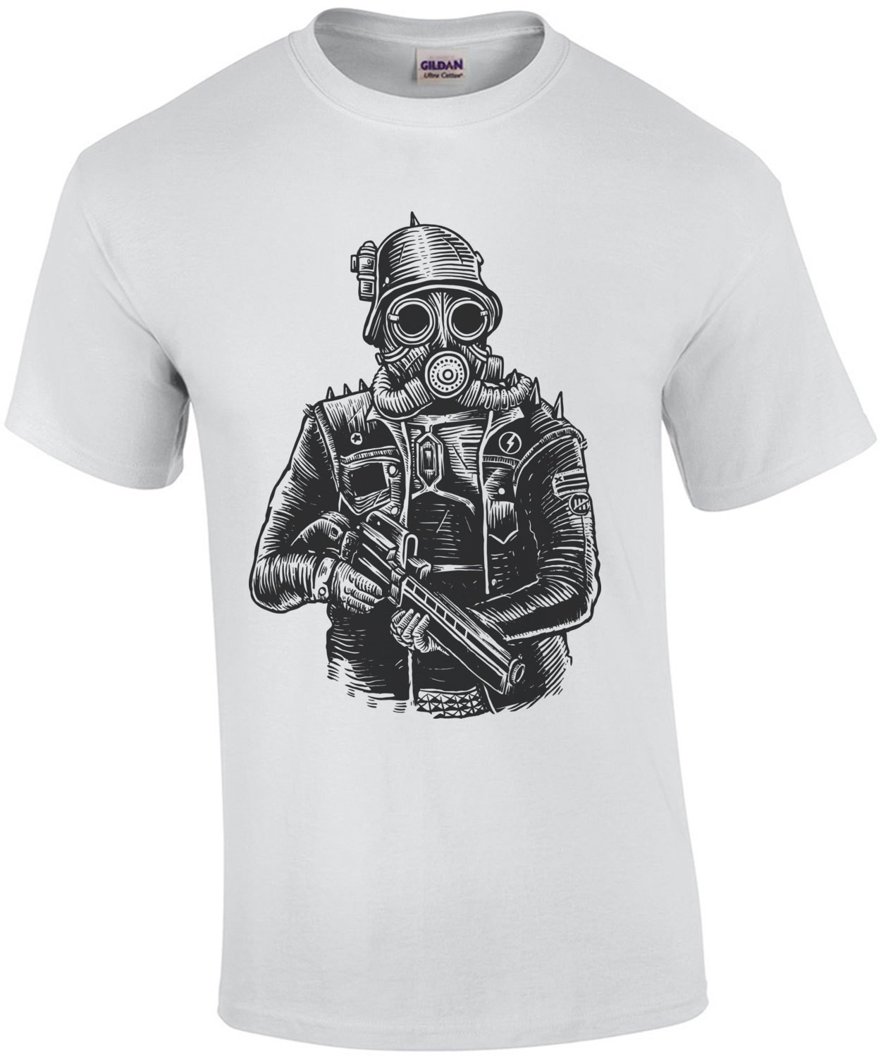 Steampunk Soldier Apocalyptic T-Shirt