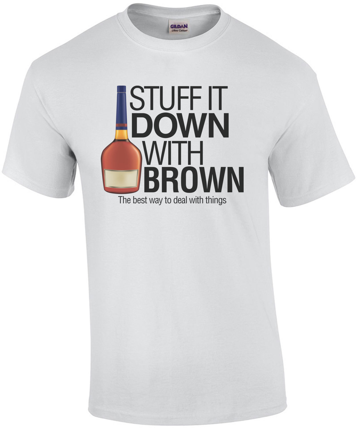 Stuff It Down With Brown Always Sunny T-Shirt