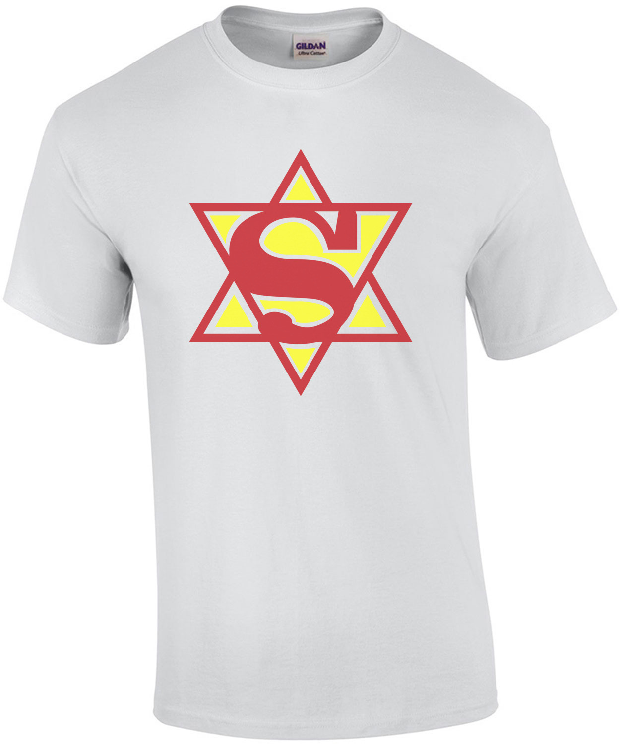 Super Hebrew - Super Jewish Man T-Shirt
