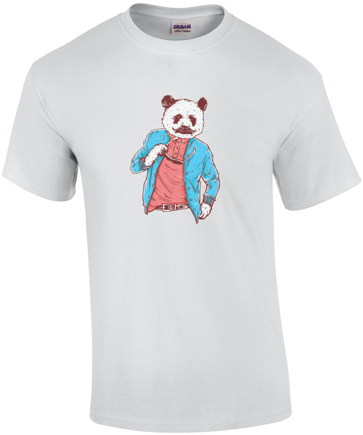 Swaggy Panda Trendy Hipster T-Shirt