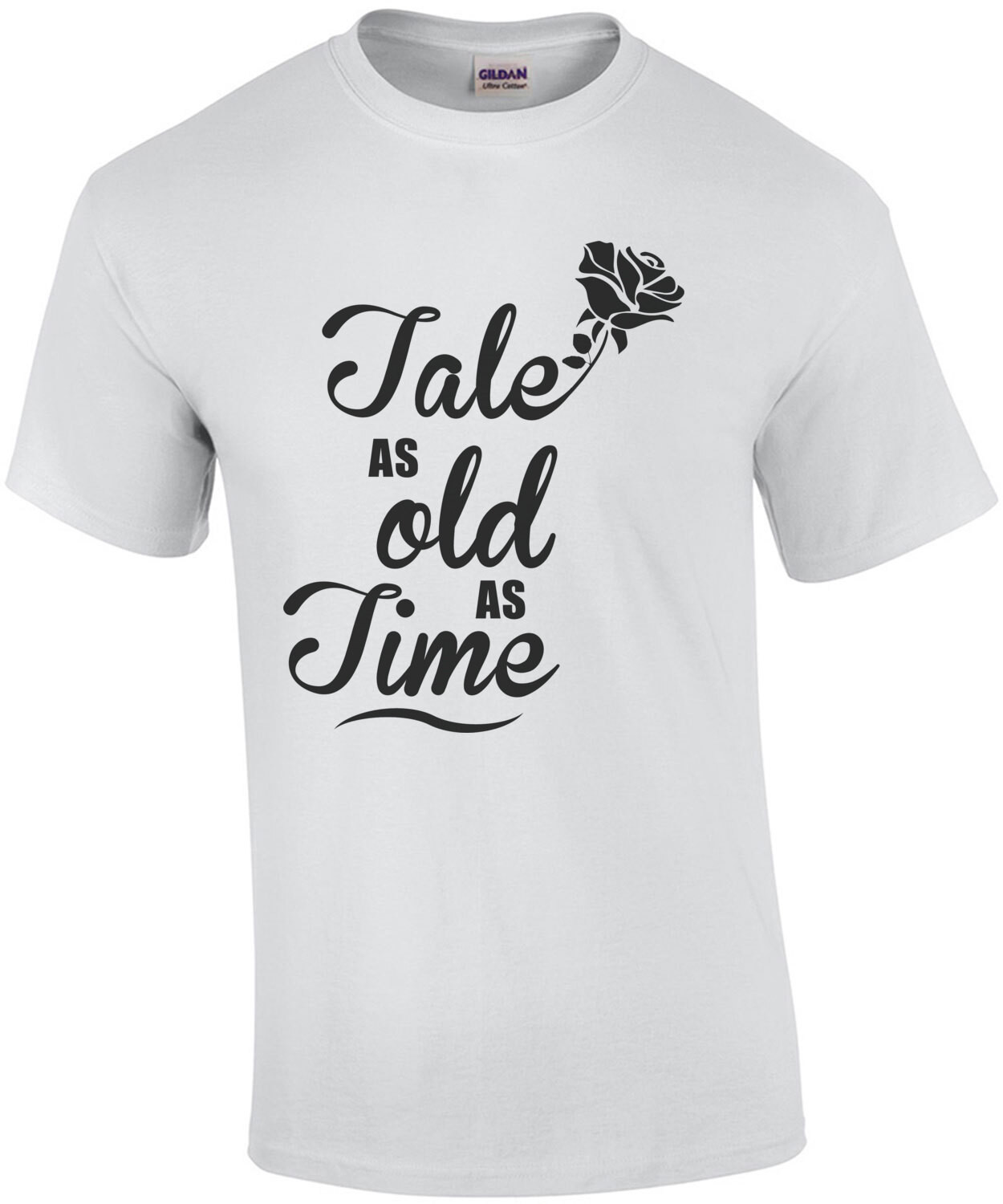 Tale as old as time - Beauty and the Beast - 90's T-Shirt