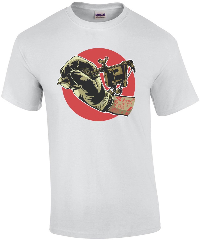Tattoo Gun Tattoo Artist T-Shirt