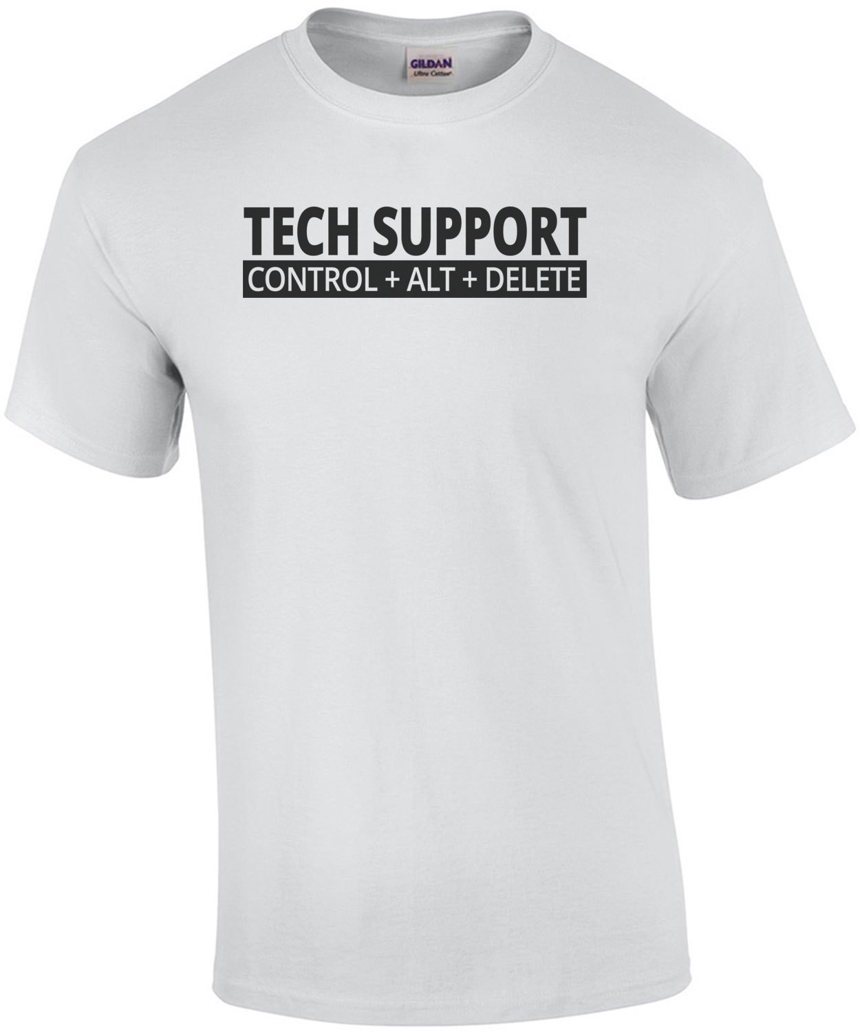 Tech Support Control Alt Delete T-Shirt