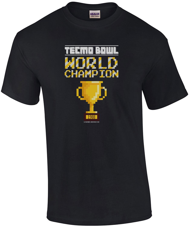 Tecmo Bowl World Champion t-shirt