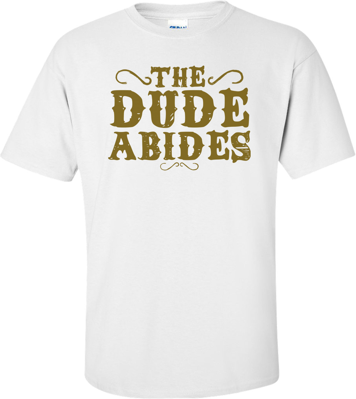 The Dude Abides The Big Lebowski T-shirt