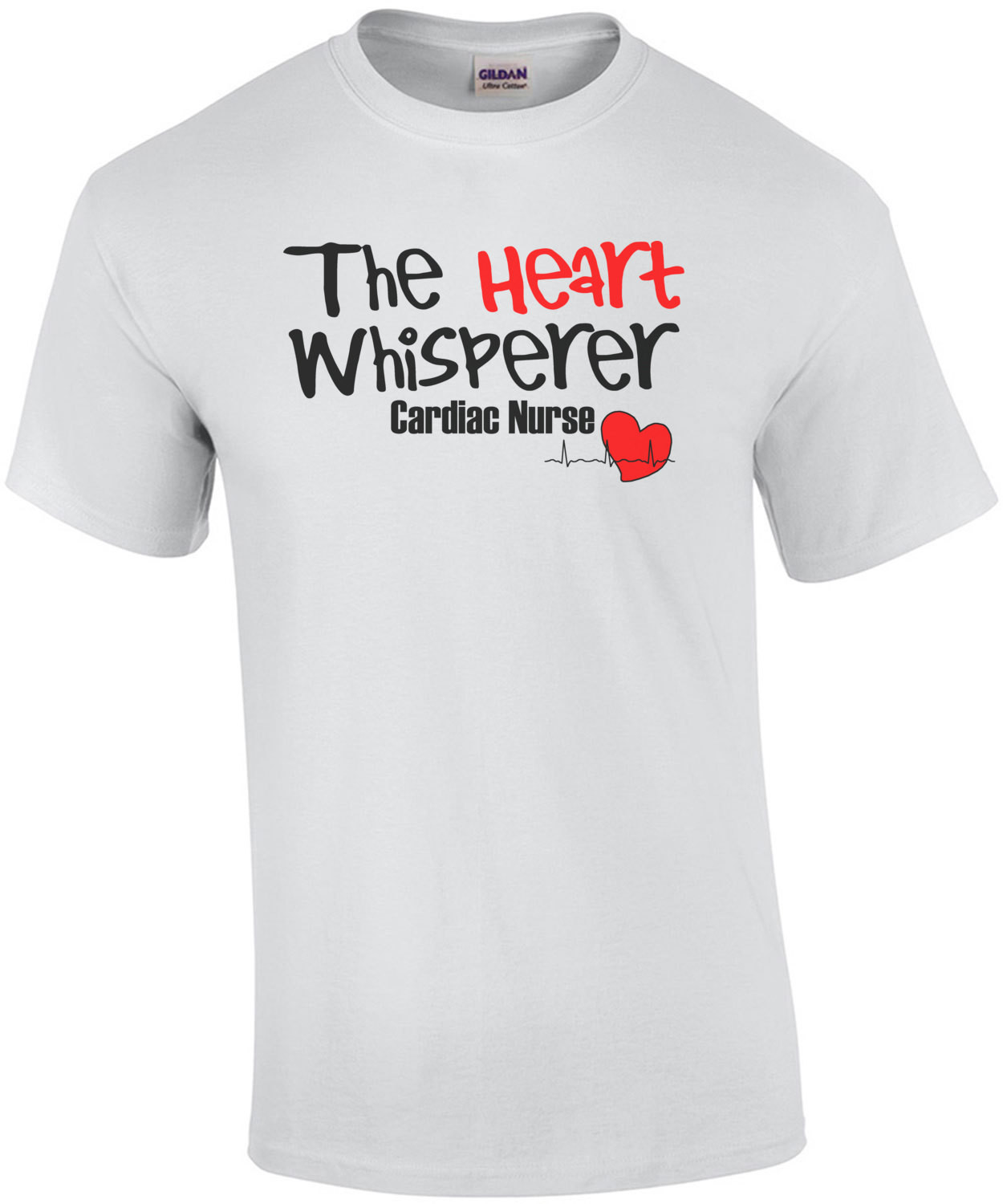 The Heart Whisperer Cardiac Nurse T-Shirt