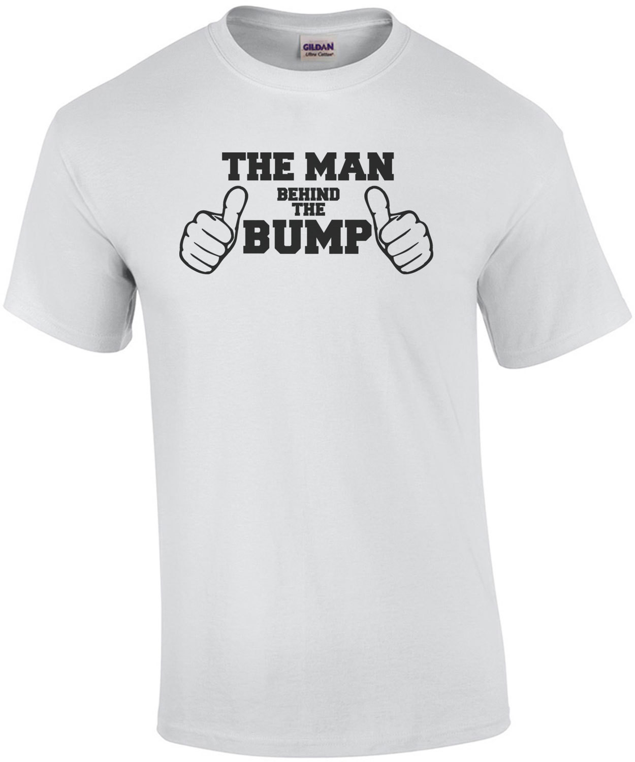 The man behind the bump - expecting father shirt