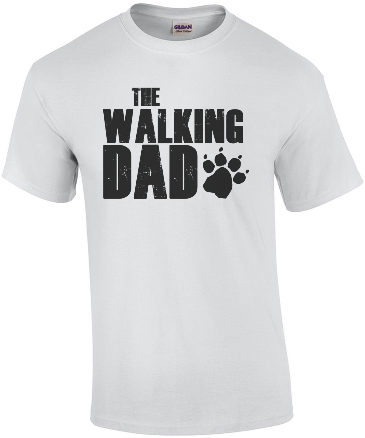 The Walking Dad - Dog T-Shirt