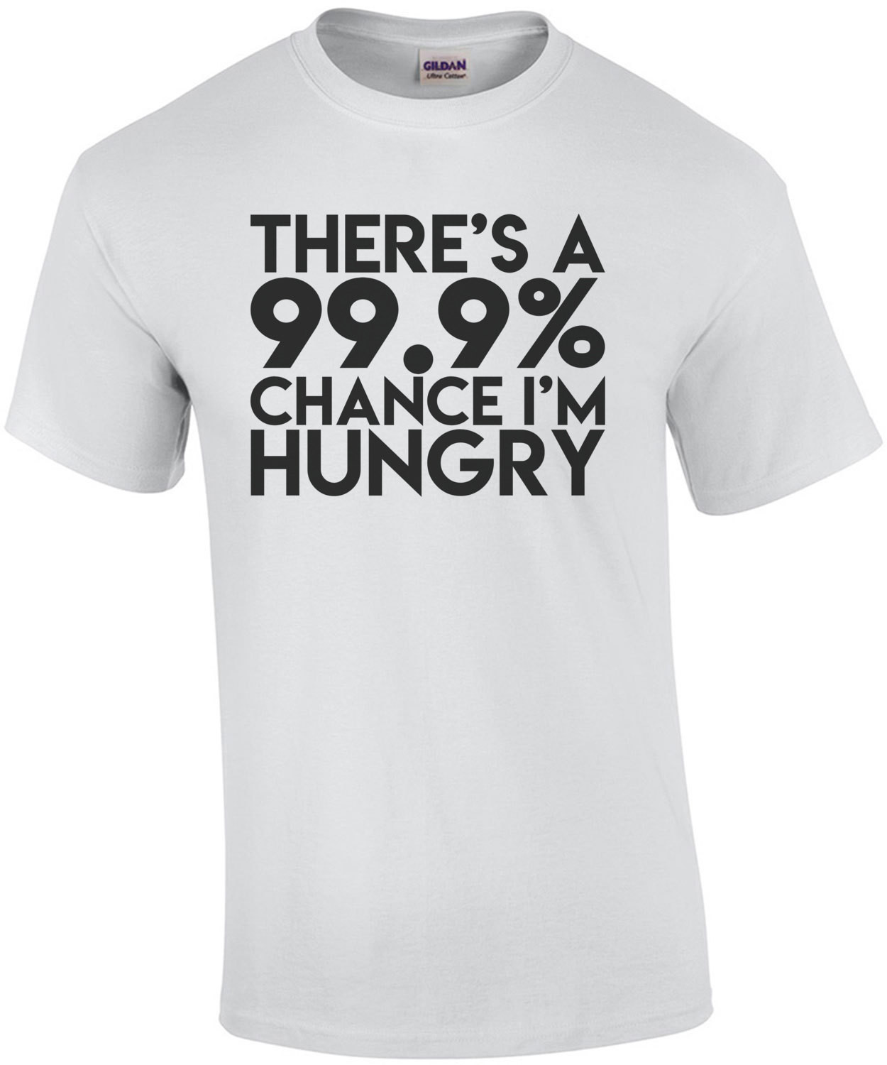 There's a 99% Chance That I'm Hungry
