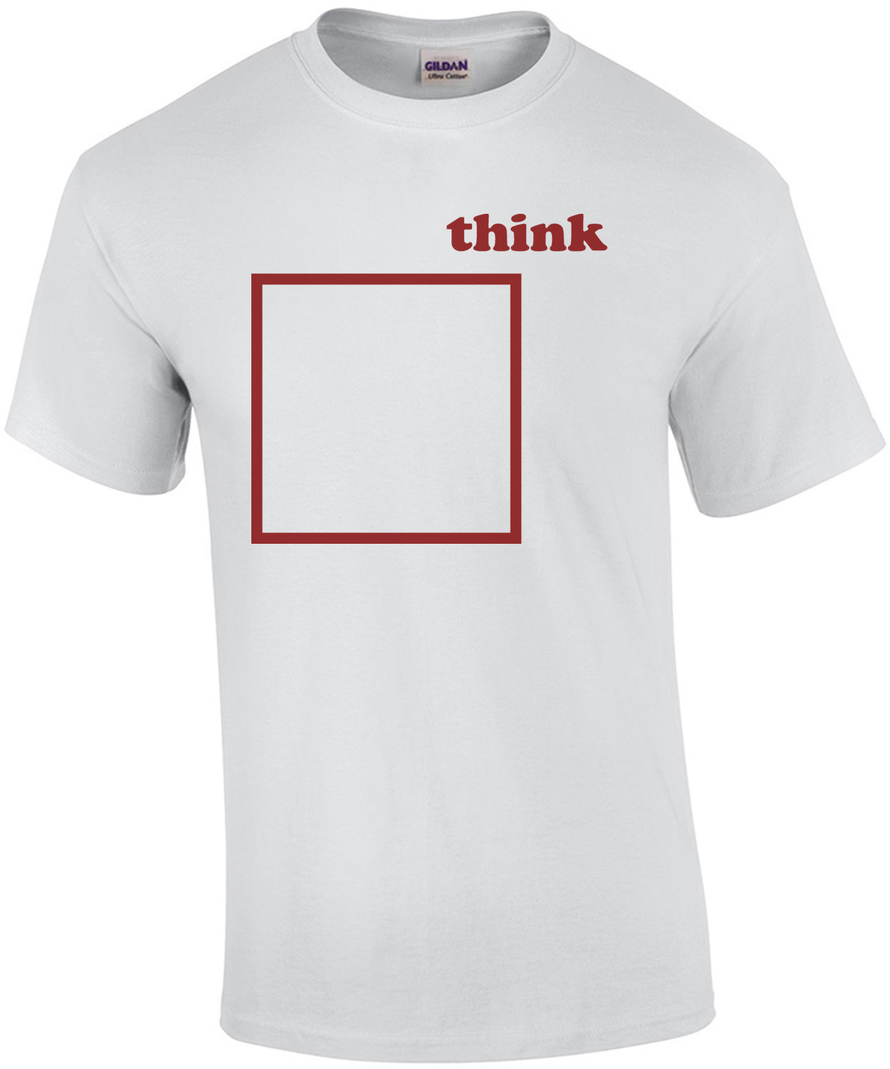 Think outside the box - Funny T-Shirt