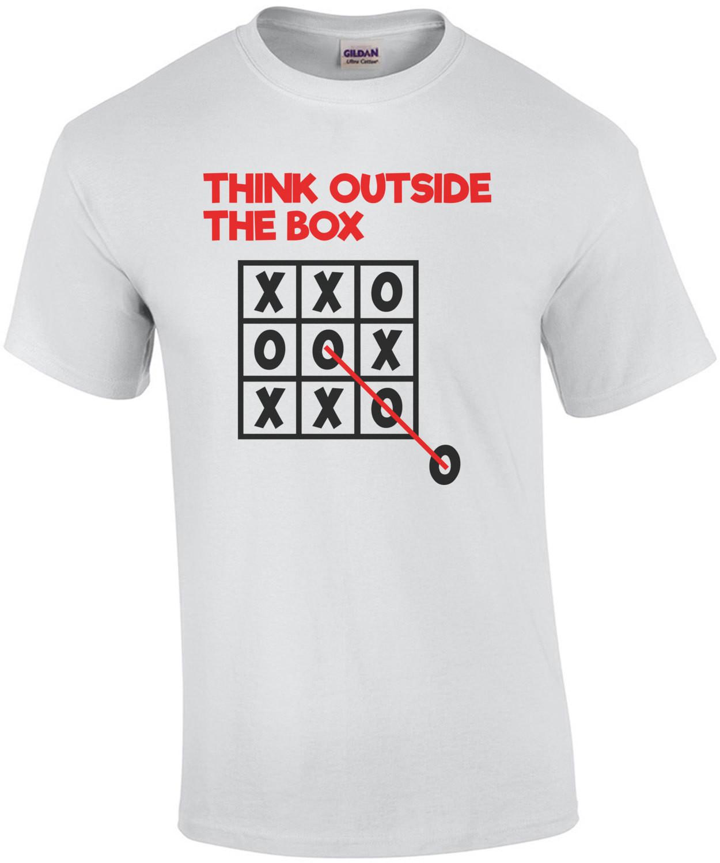 Think Outside The Box Tic Tac Toe T-Shirt