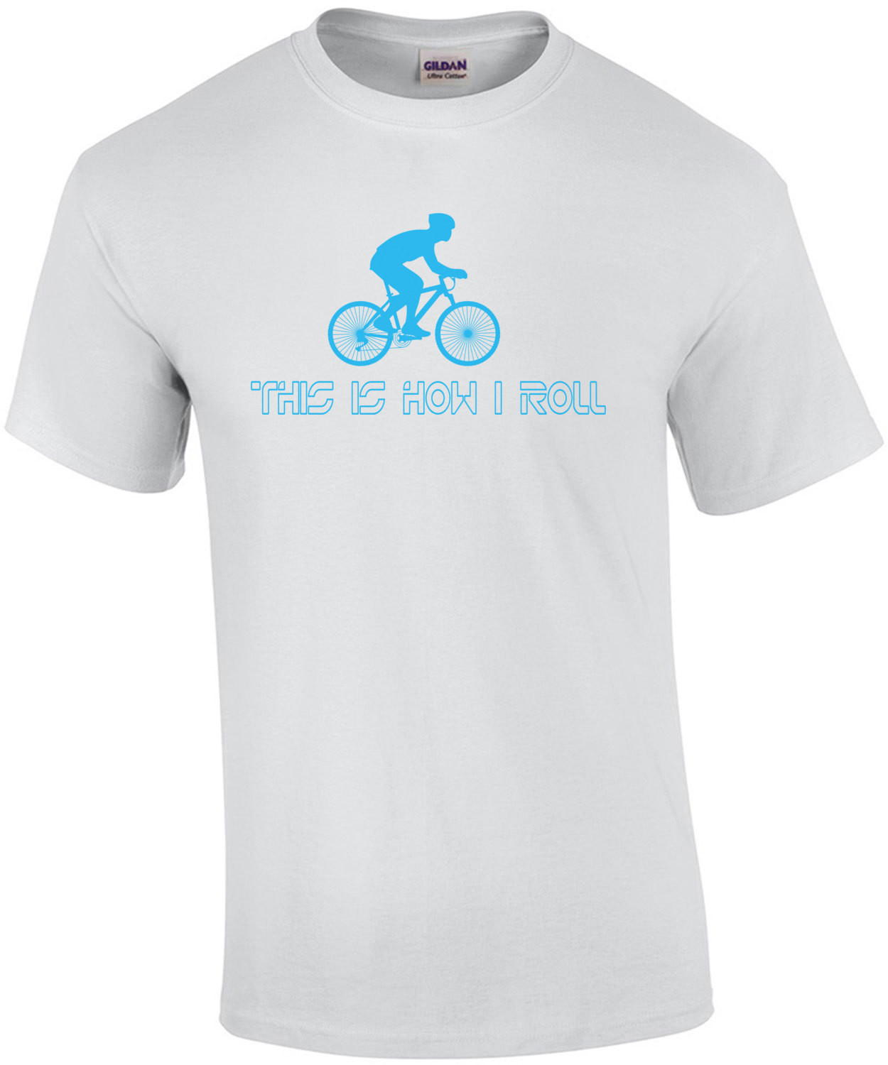This Is How I Roll Bicycling T-Shirt