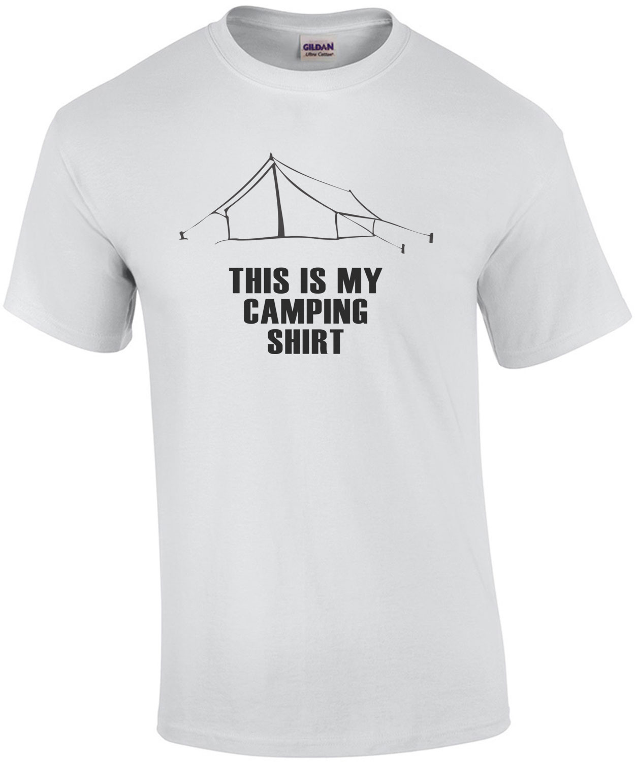 This is my camping shirt - camping t-shirt